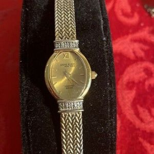 Anne Klein New York Diamond Swiss Watch 12/7568
